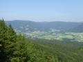 Blick nach Norden zum Weinsberger Wald