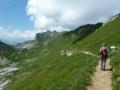 Abstieg Rofanspitze
