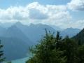 Blick auf Achensee und Karwendel