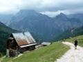 Abstieg zur Plumsjochhütte