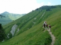Abstieg Richtung Kleinzemmalm