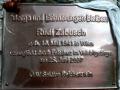 Gedenktafel Rudi Zabusch