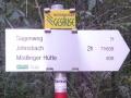 Markierung nach Johnsbach