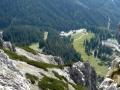 Abstieg zur Oberst Klinke-Hütte