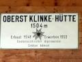 Oberst Klinke - Hütte