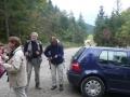 Hinteres Johnsbachtal: Parkplatz unterhalb des Gehöfts Gscheidegger