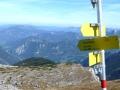 Blick Richtung Hochkar und Dürrenstein