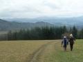 Abstieg zurück in die Bernau