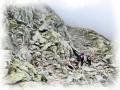 Aufstieg Rotmandelscharte