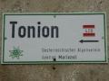 Wegweiser zum Tonion