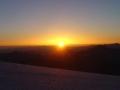 Sonnenaufgang am Glocknerleitl