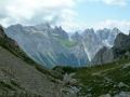 Gipfelblick Monte Peralba
