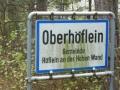 zurück in Oberhöflein