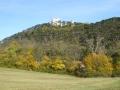 Meiereiwiese mit Blick auf die Burg Mödling
