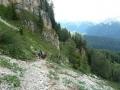 Vom Karerpass auf die Latemarspitze