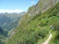 Abstieg zur Gollinghütte
