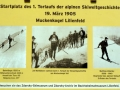 Schautafel Matthias Zdarsky