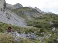 Südwiener Hütte:  Aufstieg zum Wildsee