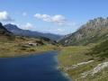 Ahkarscharte: Oberhüttensee