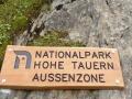 Murursprung: Schild Nationalpark