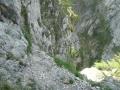 Blick zurück ins Große Höllental