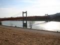 Über die Jedleseer Brücke geht es auf die Donauinsel
