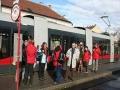 Start bei der Endstelle der Linie 31 in Stammersdorf