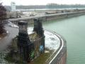 Graffitti am Winterhafen