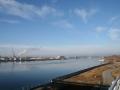 Blick zum Freudenauer Hafen