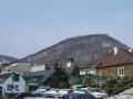 Blick auf den Nasenweg zum Leopoldsberg
