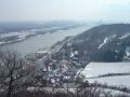 """Nirgends sieht man die """"Wiener"""" Donau so schön wie hier am Nasenweg zum Leopoldsberg"""