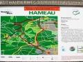 Orientierungstafel im Schwarzenbergpark