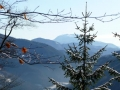Erster Blick zum Schneeberg