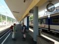 Rückfahrt mit der Bahn