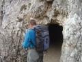 Eingang Tunnelsystem