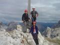 Gipfelkreuz Paternkofel