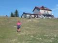 Julius-Seitner-Hütte auf dem Gipfel des Eisenstein (1.195 m)