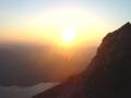 Sonnenuntergang am Naturfreundesteig