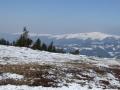 Blick vom Umschußriegel zu den Fischbacher Alpen mit dem Stuhleck