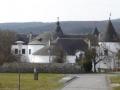 Schloss Kobersdorf im Rückblick