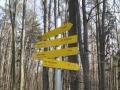 Wegweiser nach Bad Sauerbrunn