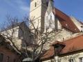 Marktplatz und Kirche in Weißenkirchen