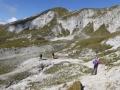 Abstieg zum Oberhüttensee