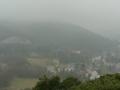 Blick von der Ruine Mödling zur Meiereiwiese