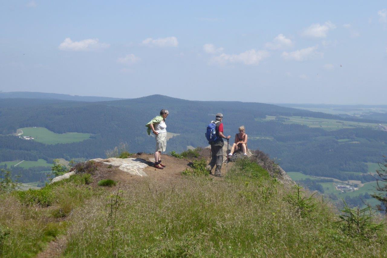 am Großen Peilstein (1.061 m)