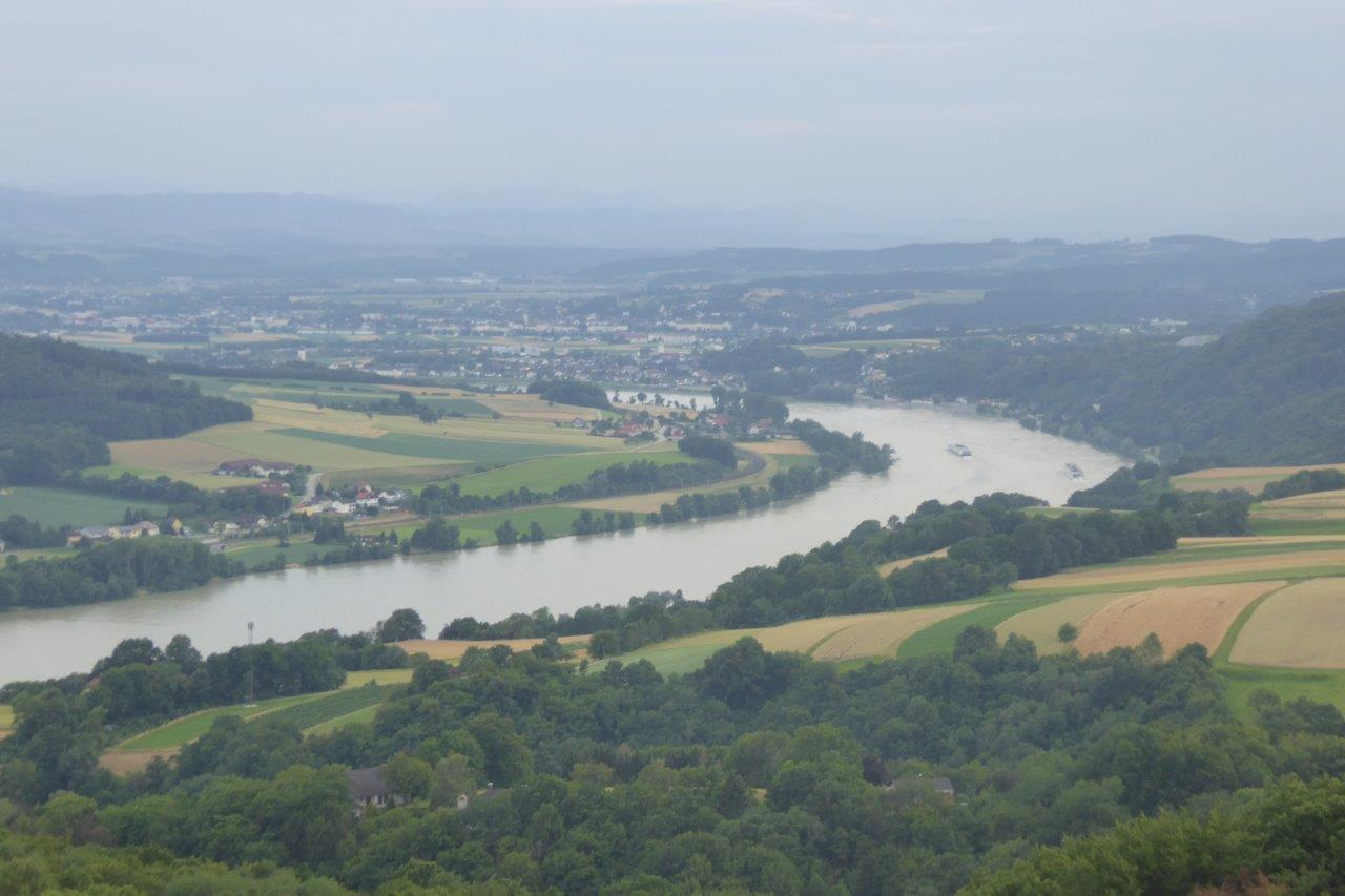 Blick von Maria Taferl zur Donau