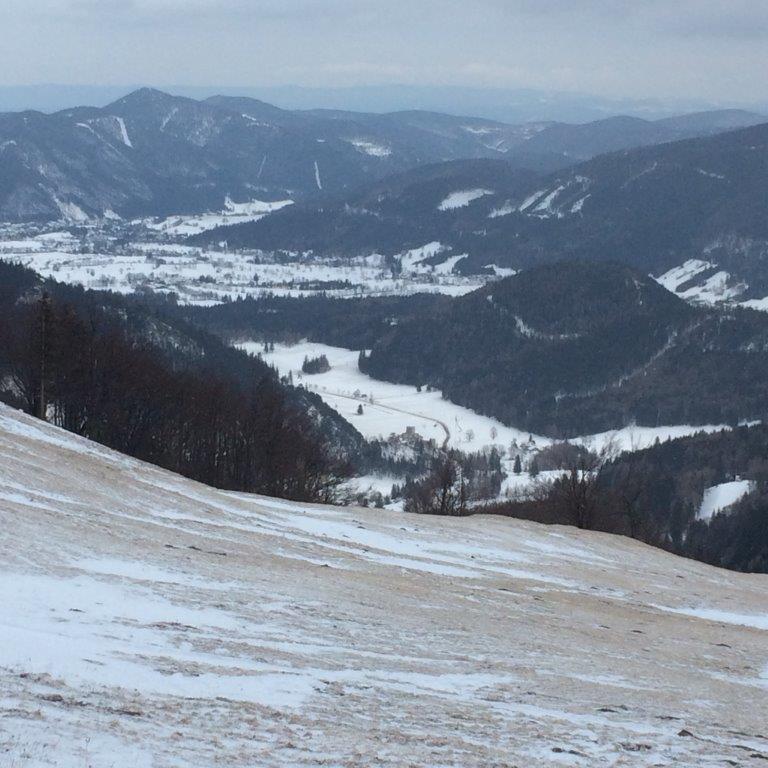 Abstieg nach Losenheim
