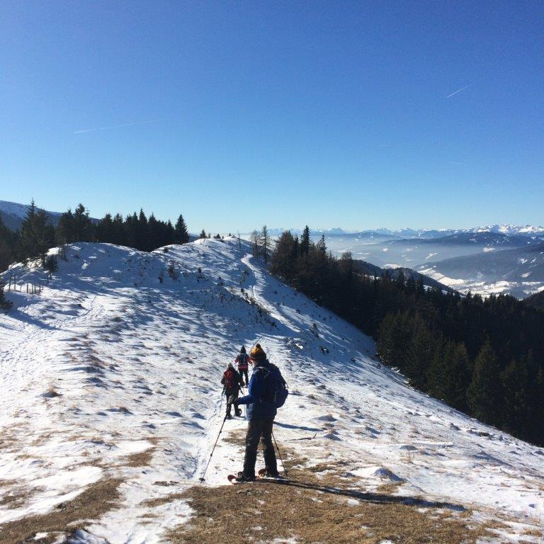 Abstieg vom Erzkogel