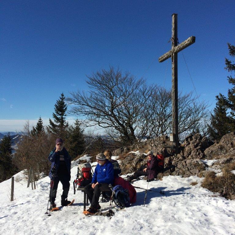 Gipfelkreuz Eisenstein