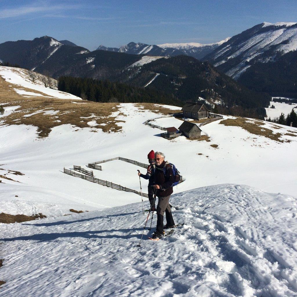 Abstieg zur Sulzrieglalm